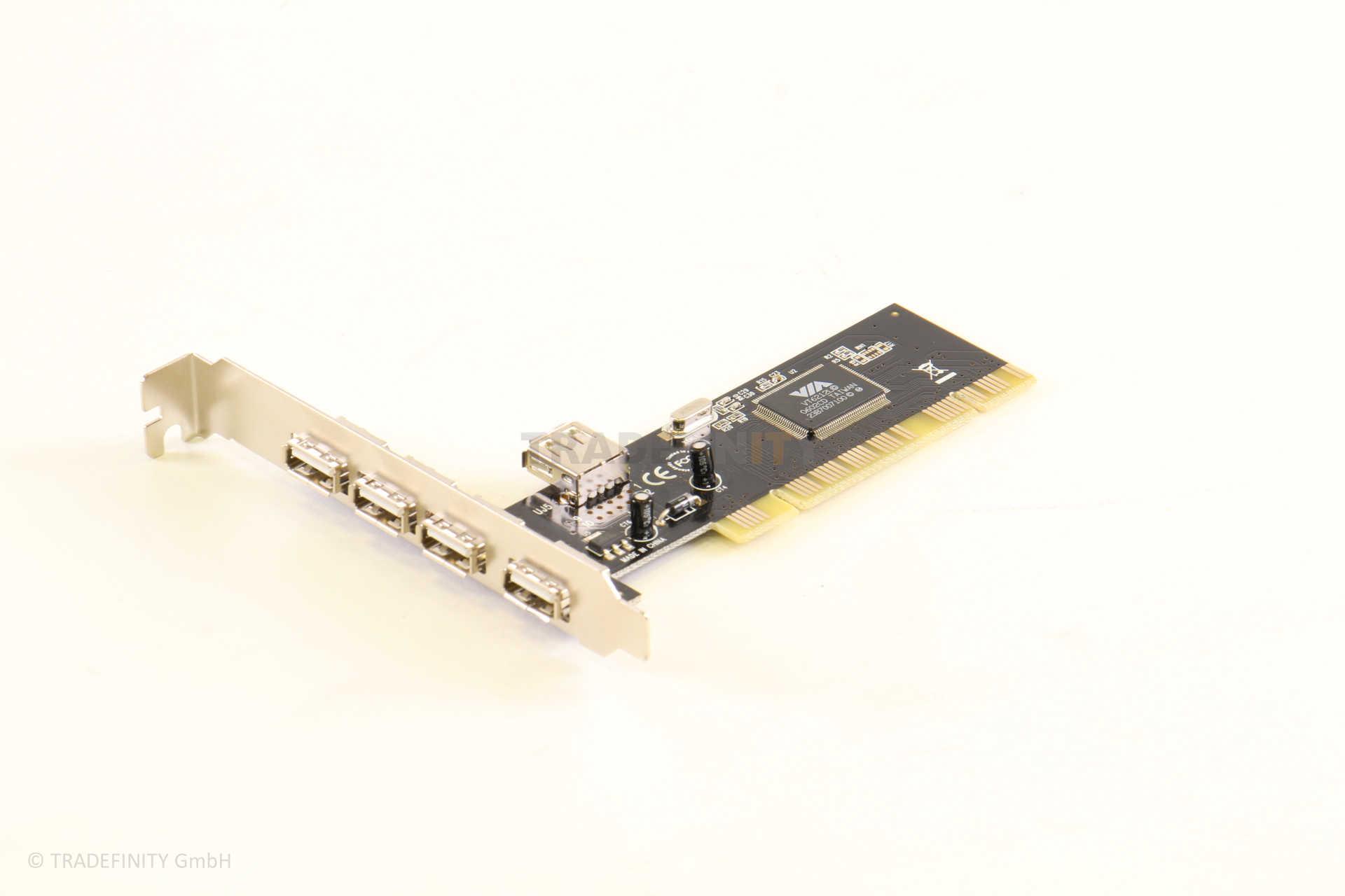 5-Port USB 2.0 Adapter